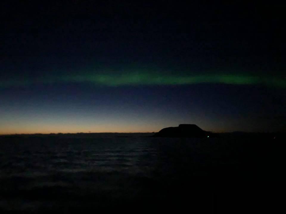 Kurs 173 przez Arktyczne Morza powrót na Południe
